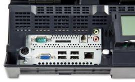 Toshiba WILLPOS C10 Inputs