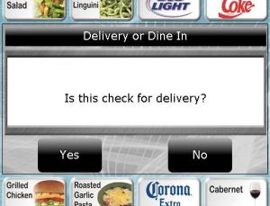 Digital Dining Delivery Prompt