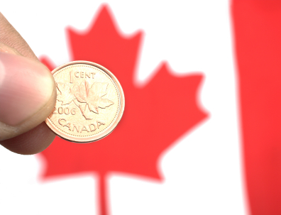 Canadian Penny Dies At POS