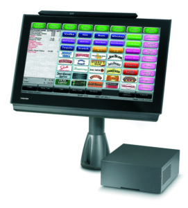 Toshiba TCx Wave POS On Pole Mount