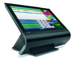 Toshiba TCx Wave on Docking Stand