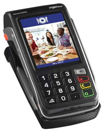 Ingenico Move 5000 Wireless Pay at Table Pinpad