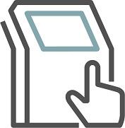 Self-Service Kiosk Icon