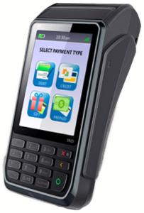 Pax S920 wireless pinpad for credit & debit processing