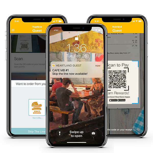 Global Restaurant POS Mobile Guest App