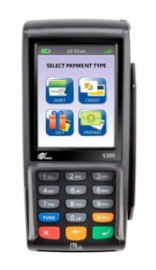 Pax S300 wired credit & debit processing pinpad